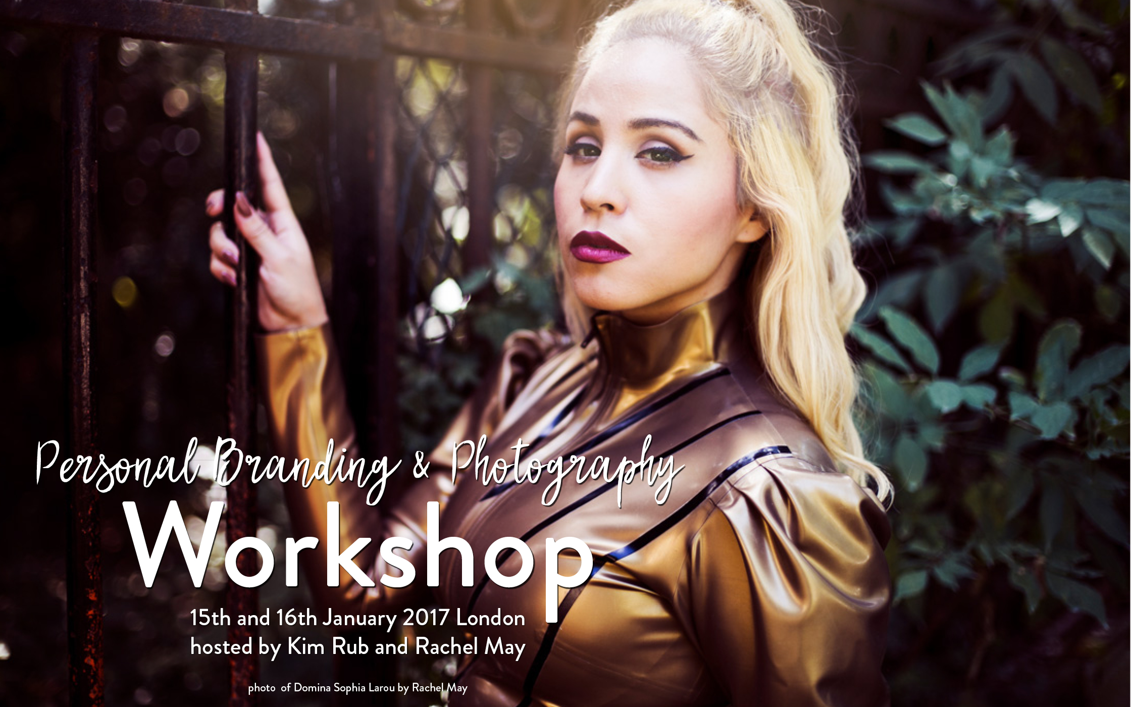 Personal Branding and Photography Workshops, London